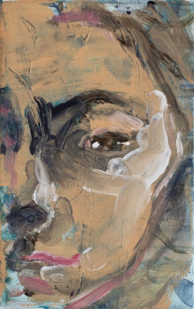 Paolo Maggis 2014 Female's Head 22,5x14,5cm