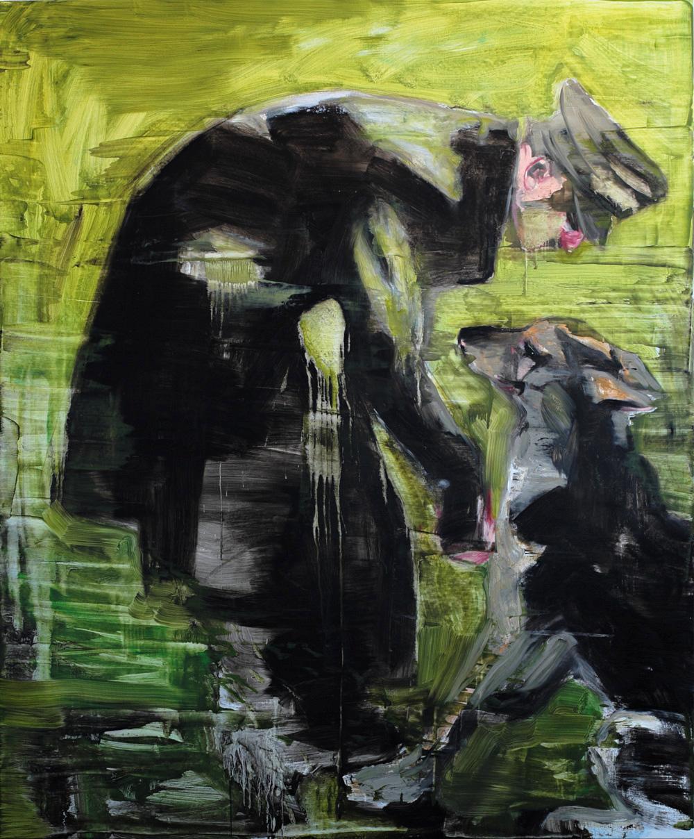 Paolo Maggis 2014 Judas' mistery 195x163cm
