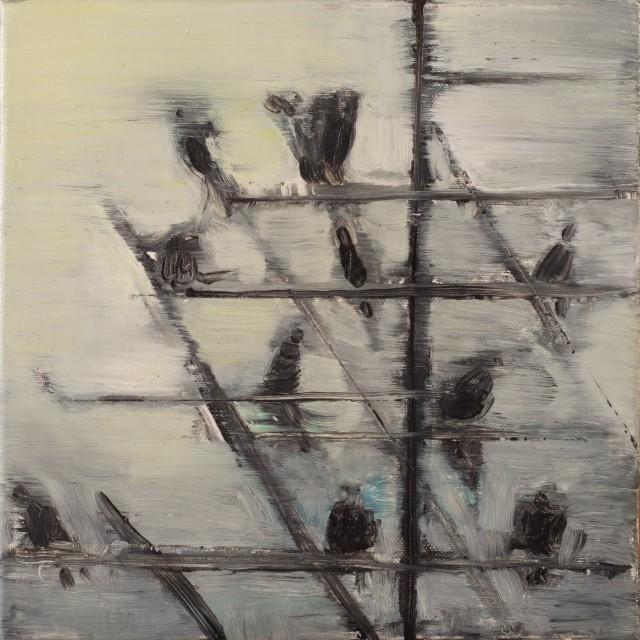 Paolo-Maggis-November's-birds-3-2011-30x30cm
