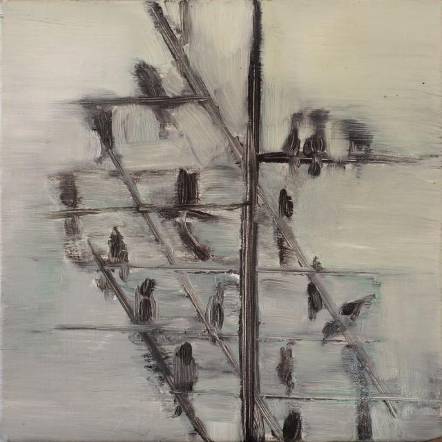 Paolo-Maggis-November's-birds-2-2011-30x30cm